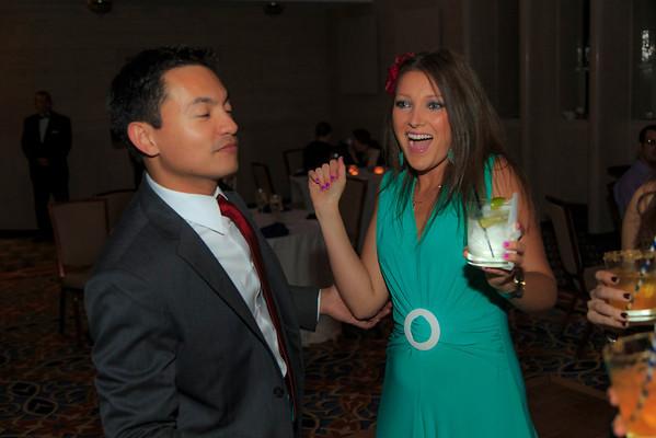 John & Stephanie Reception